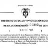 Resolución MinSalud 202 de 2021 – Febrero 23 de 2021